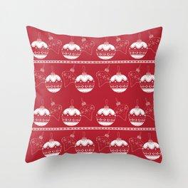 A Tree-mendous Christmas! Throw Pillow