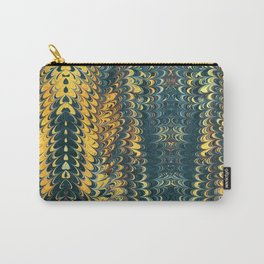 gold cactus marble Carry-All Pouch