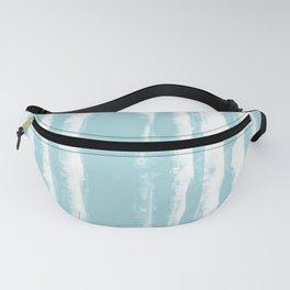 Shibori Stripe Seafoam Fanny Pack