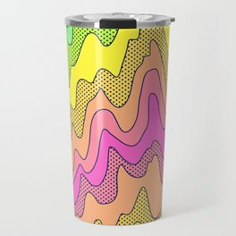 Ooo Ahh Melty Neon Rainbow Travel Mug