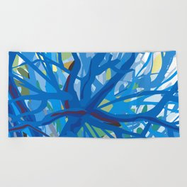 Morning at Whittier Narrows Wilderness Beach Towel