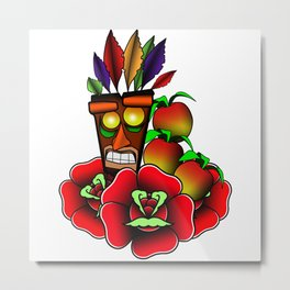 Aku Aku (Crash Bandicoot) Metal Print