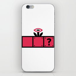 Blocks with Flower Power iPhone Skin