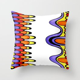 Slander Throw Pillow