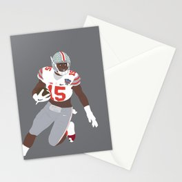 Ohio State Buckeyes - Ezekiel Elliott (2015) (Vector Art) Stationery Cards