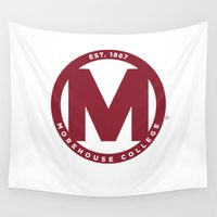 swag Wall Tapestries featuring Morehouse Swag by SpelHouse Swag