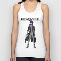 ghost in the shell Tank Tops featuring Ghost in the Shell by Krbshadow
