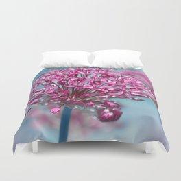 Allium pink Duvet Cover