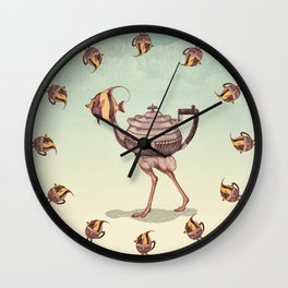 The Teapostrish Family Wall Clock