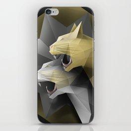 Geometric Cats iPhone Skin