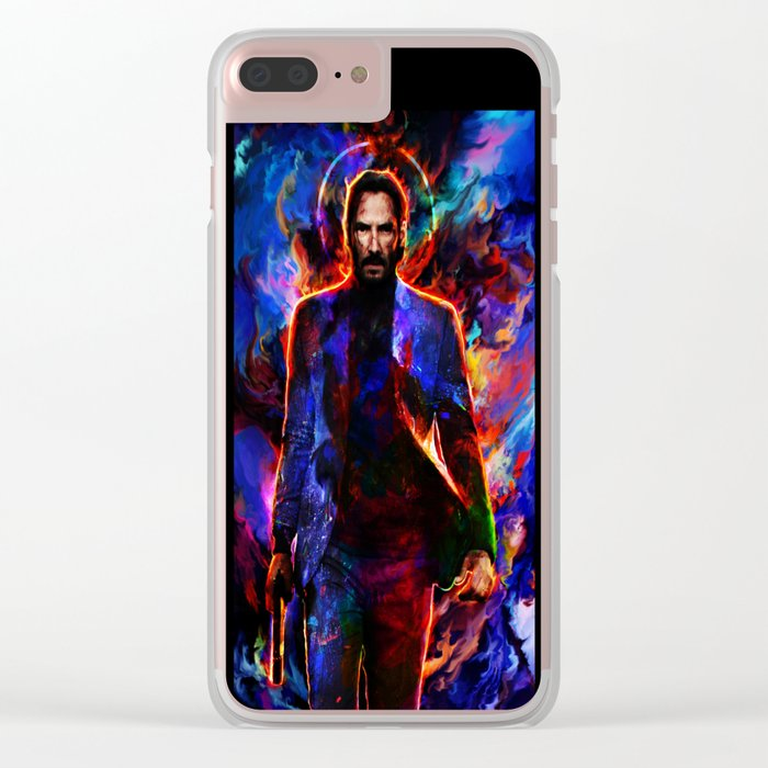 keanu reeves Clear iPhone Case