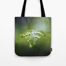 Raining Green Tote Bag