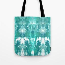 Aqua Blue Lagoon Tote Bag