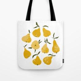 Yellow pear Tote Bag
