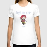 borderlands T-shirts featuring Fight Like a Girl | Lilith - Borderlands by ~ isa ~