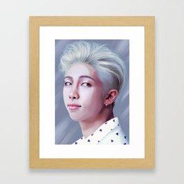 RAPMONSTER BTS Framed Art Print