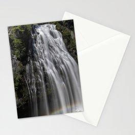 Narada Falls with a Rainbow Stationery Cards