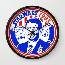 Starwars Program 1983 Wall Clock