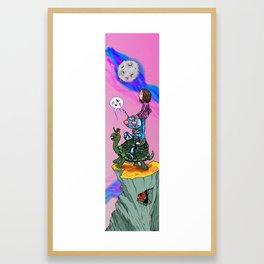 Summer Crush '86 Framed Art Print