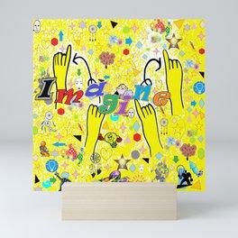 ASL Imagine Mini Art Print