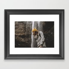 Low Falls Framed Art Print