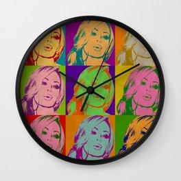 Retro Jenna Wall Clock