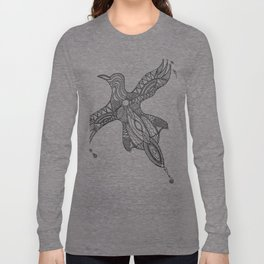 Nothing is just black or white Long Sleeve T-shirt