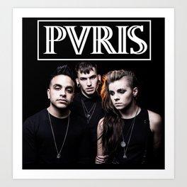 PVRIS WORLD TOUR DATES 2019 TULIP Art Print