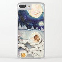 The Finding of Major Tom Clear iPhone Case
