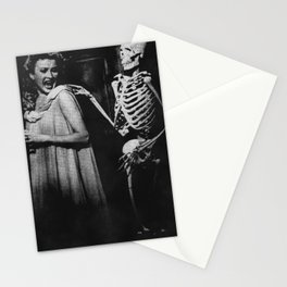 Aaaaagh a skeleton! Stationery Cards