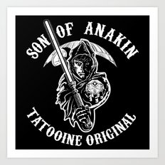 Son of Anakin Art Print