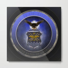Air Force Seal Metal Print