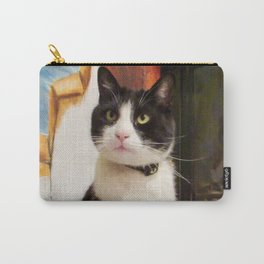 Orazio the charming cat Carry-All Pouch