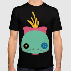 Scrump Black SMALL Mens Fitted Tee