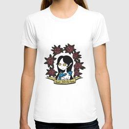 Crimson Rose & Her Best Friend T-shirt