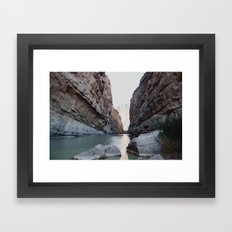 Santa Elena Canyon Framed Art Print