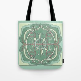 slightly floral, very green Tote Bag