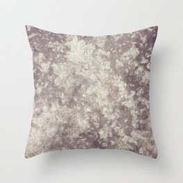 Leaf Ghosts, Grey III Throw Pillow