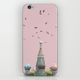 minimal moskow iPhone Skin