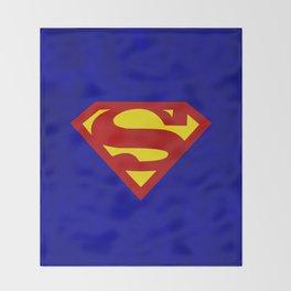 Superman Throw Blanket