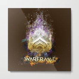 Warframe Metal Print