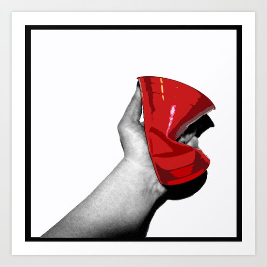 Red Cup Art Print