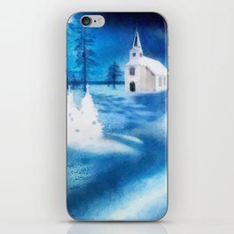 Christmas Serenade iPhone Skin