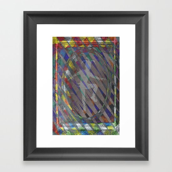 The Jester Framed Art Print