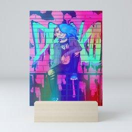 Teenagers scare me Mini Art Print