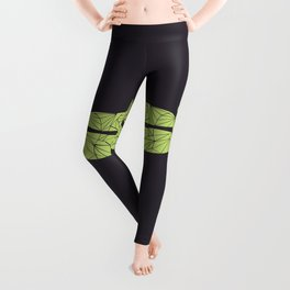 The dragonfly is not envoius Leggings