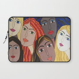 Women portrait Laptop Sleeve