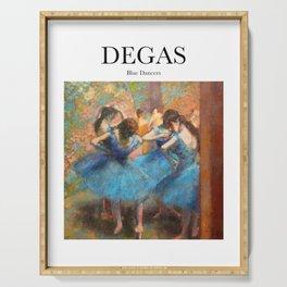 Degas - Blue Dancers Serving Tray