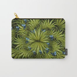 """El Bosco fantasy, tropical island blue butterflies"" Carry-All Pouch"