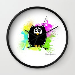 The owl without name Wall Clock